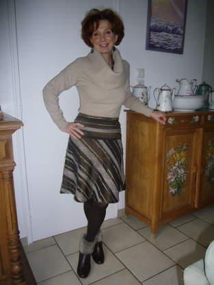 Makerist - jupe rayée - 1