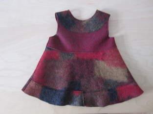 Makerist - Winterkleid aus Walkstoff - 1