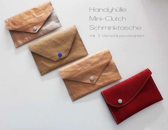 Makerist - DIY-Geschenkidee / Mini-Clutch, Handyhülle oder Schminktäschchen - Nähprojekte - 1