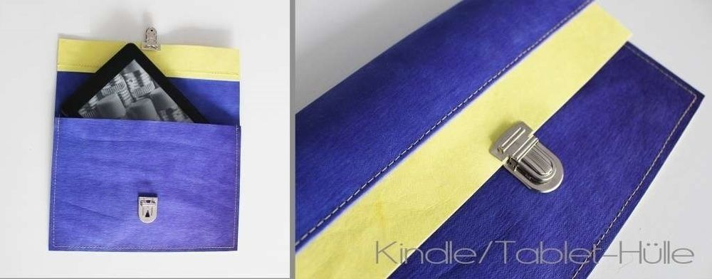 Makerist - DIY-Geschenkidee / Kindle-Hülle - Tablet-Hülle - Notebook-Hülle - Nähprojekte - 1