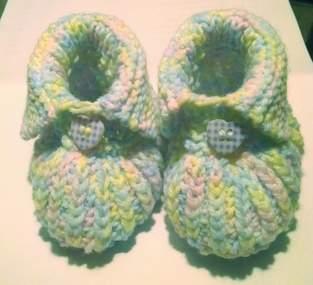 Makerist - Baby Booties - 1