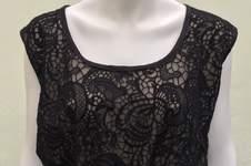Makerist - ein festliches Kleid aus schwarzer Spitze - 1