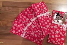 Makerist - Weihnachtliche Bestecktasche Chloe - 1