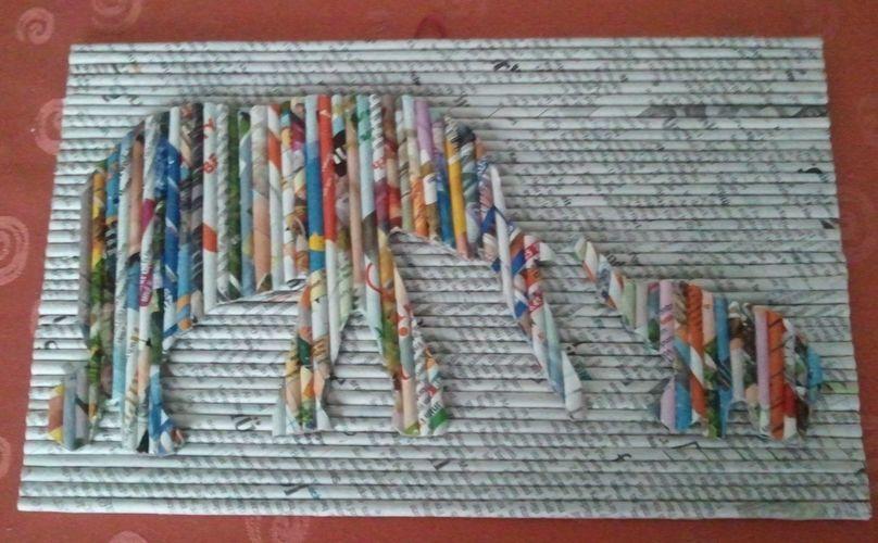 Makerist - Elefanten Papierröllchen Bild - DIY-Projekte - 1