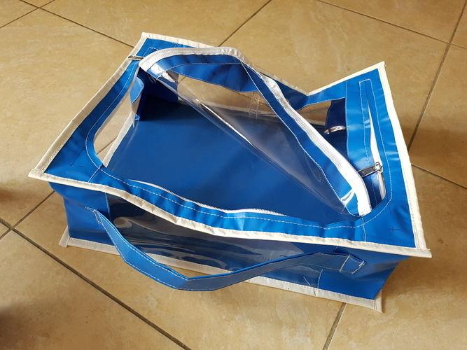 Makerist - Pochette de rangement transparente - Autres créations - 1