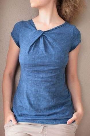 Makerist - Knotenshirt Fano - 1
