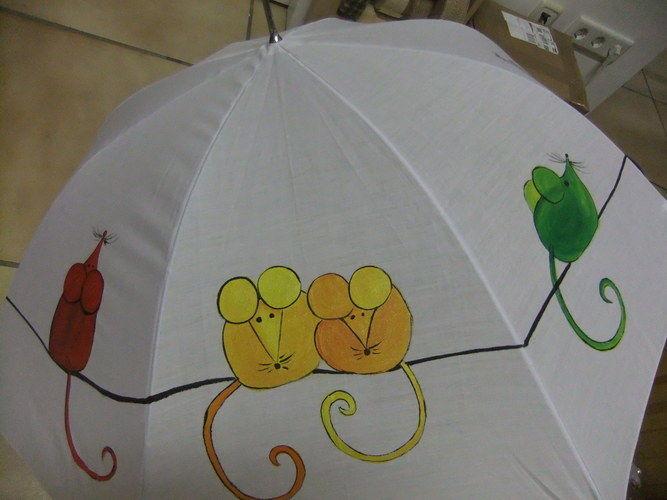 Makerist - Schlechtes Wetter - trotzdem gute Laune - Schirme - DIY-Projekte - 2