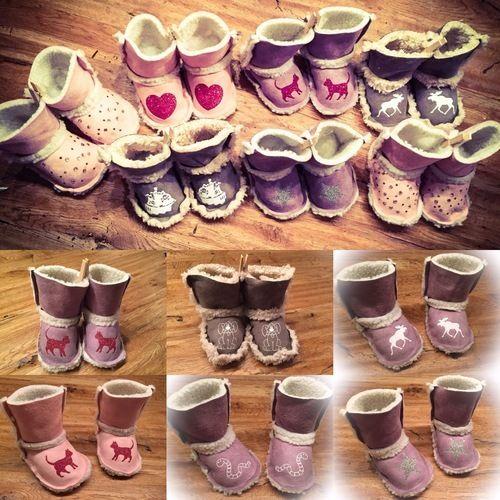 Makerist - Babyboots Ubb - Textilgestaltung - 1