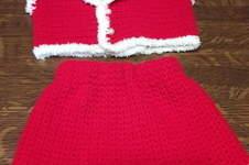 Makerist - ensemble bonnet, boléro et jupe crocheté - 1