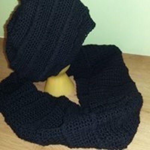 Makerist - ensemble bonnet, snood crocheté - Créations de crochet - 1