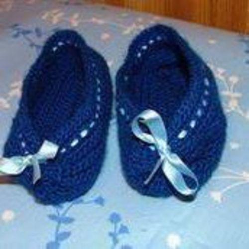 Makerist - chaussons crochetés - Créations de crochet - 1