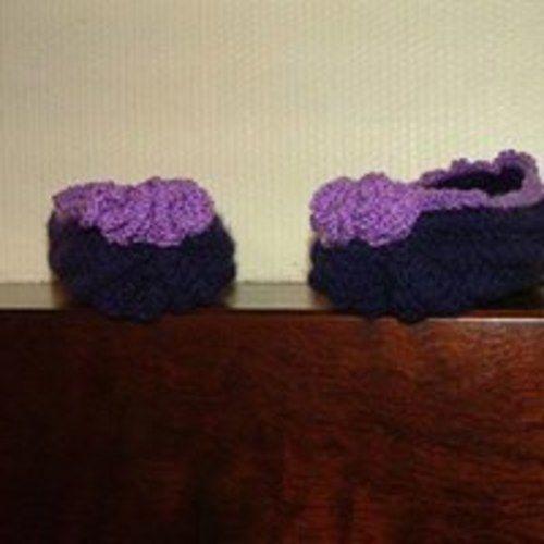 Makerist - chaussons de nuit crochetés - Créations de crochet - 1