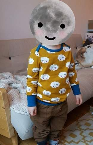 Kindershirt 'Liam' in Größe 104