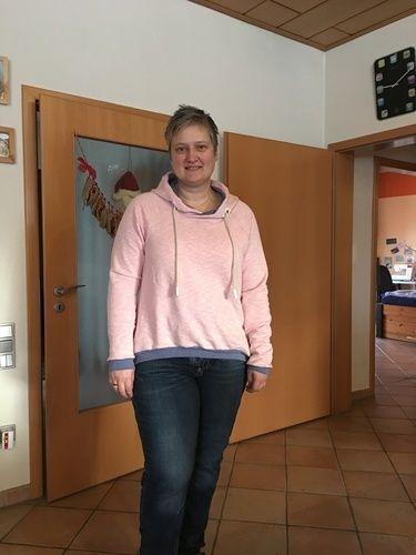 Makerist - Große Vani in rosa Vintagesweat - Nähprojekte - 3