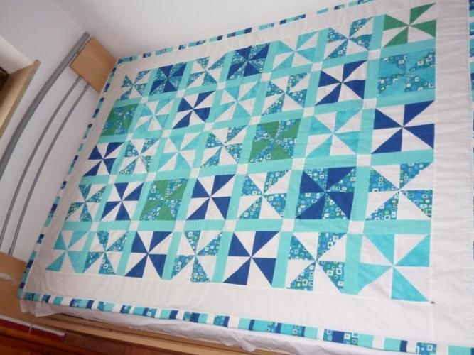 "Makerist - ""Turquoise"" - Patchwork-Projekte - 1"