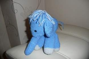 First crochet animal.