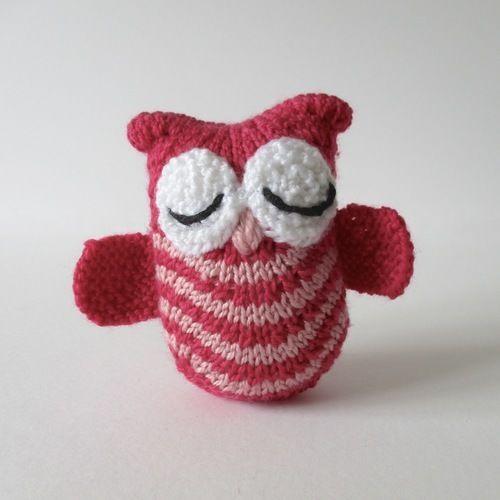 Makerist - Olive the Owl - Knitting Showcase - 1