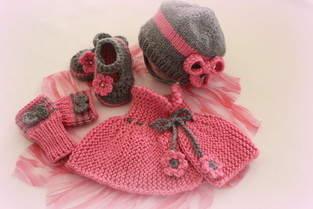 Makerist - Erstlingsset für eine kleine Prinzessin - 1