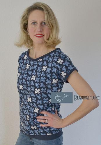 Makerist - Hummelhonig Damenshirt Rom Gr. 38 aus Jersey - Nähprojekte - 1