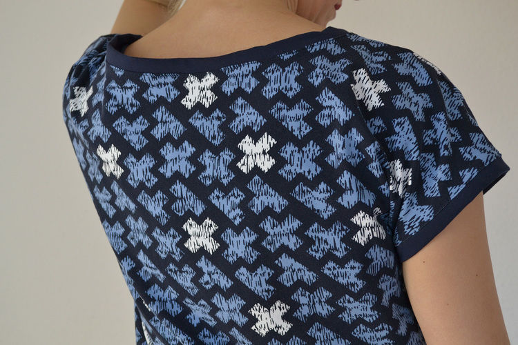 Makerist - Hummelhonig Damenshirt Rom Gr. 38 aus Jersey - Nähprojekte - 3