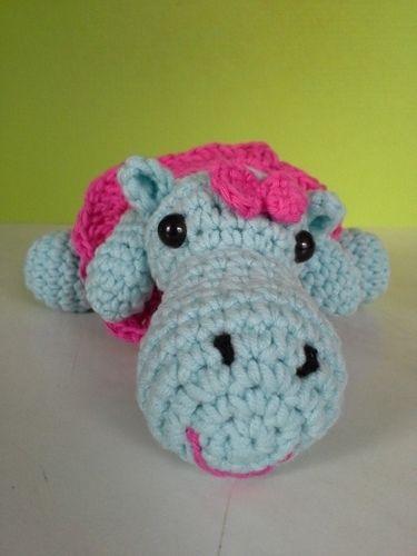 Makerist - Happy Hippo - Häkelprojekte - 1