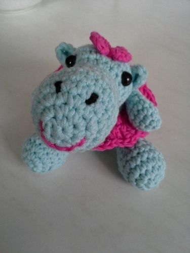 Makerist - Happy Hippo - Häkelprojekte - 3