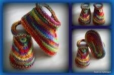 Makerist - Bunte Booties - 1