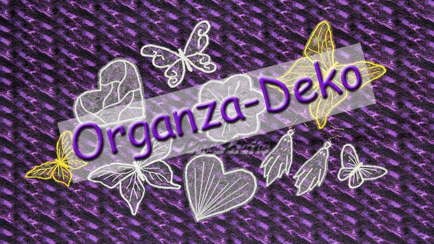 Makerist - DIY Videoanleitung - Organza-Deko nähen/sticken mit der normalen Nähmaschine - Nähprojekte - 1