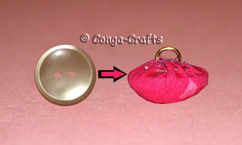 Makerist - DIY Videoanleitung - Aus Knopf mit Loch einen bezogenen Knopf mit Öse machen - DIY-Projekte - 1