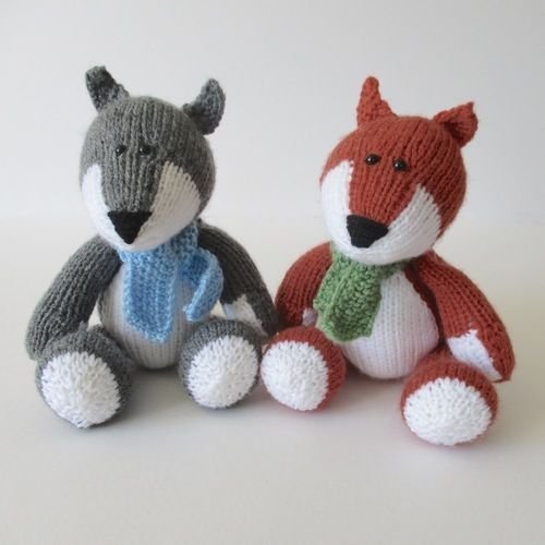 Makerist - Todd Fox and Ralf Wolf - Knitting Showcase - 1