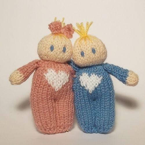 Makerist - Love hearts Bitsy babies - Knitting Showcase - 1