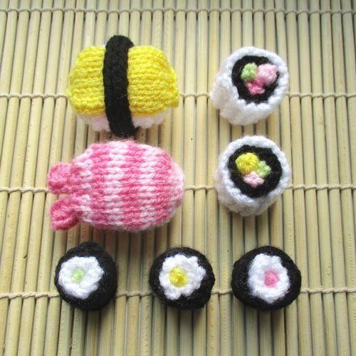 Makerist - Sushi - Knitting Showcase - 1
