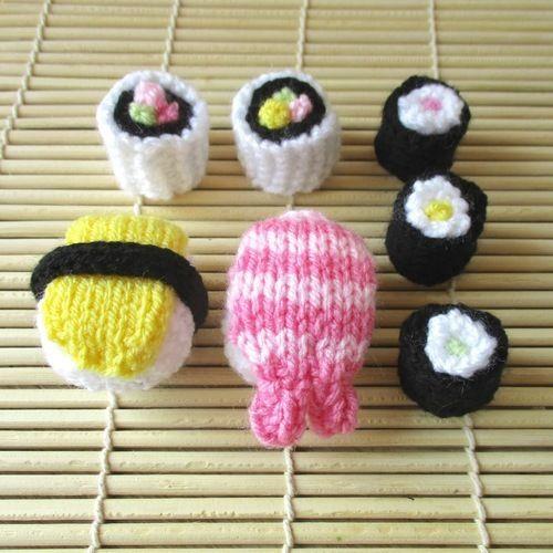 Makerist - Sushi - Knitting Showcase - 2