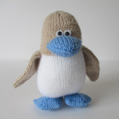 Makerist - Blue Footed Booby - Knitting Showcase - 1