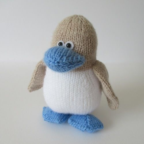 Makerist - Blue Footed Booby - Knitting Showcase - 2