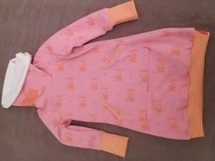 Makerist - Kuschliges Winterkleid aus Sweat und Nicki - 1
