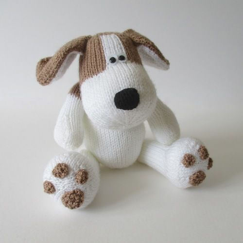 Makerist - Spot the Puppy - Knitting Showcase - 1