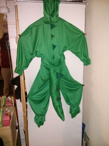 Makerist - Krokodil Faschings Kostüm - Nähprojekte - 1