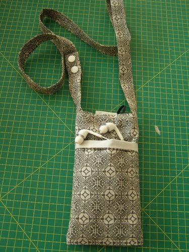 Makerist - Pochette smartphone - Créations de couture - 1