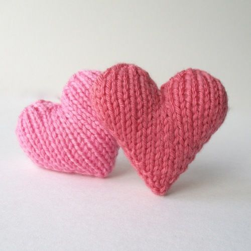 Makerist - Hearts - Knitting Showcase - 2