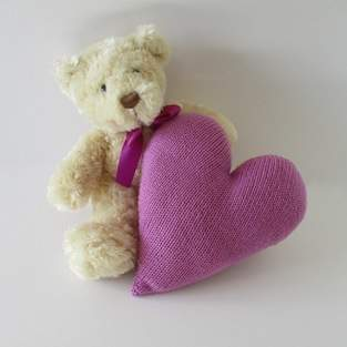 Makerist - Heart Cushion - 1