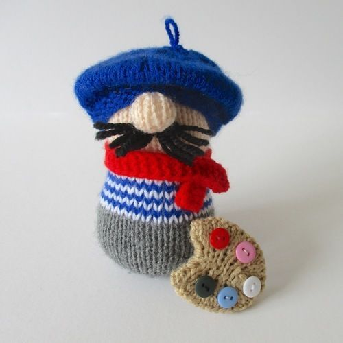 Makerist - Henri the Artist - Knitting Showcase - 2