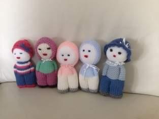 Doudous de laine.