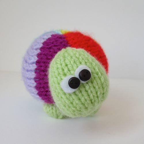 Makerist - Rainbow Tortoise - Knitting Showcase - 3