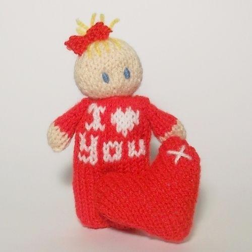 Makerist - Valentines message - Knitting Showcase - 1