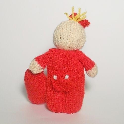 Makerist - Valentines message - Knitting Showcase - 2