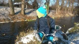 Wintermütze für meinen Sohn