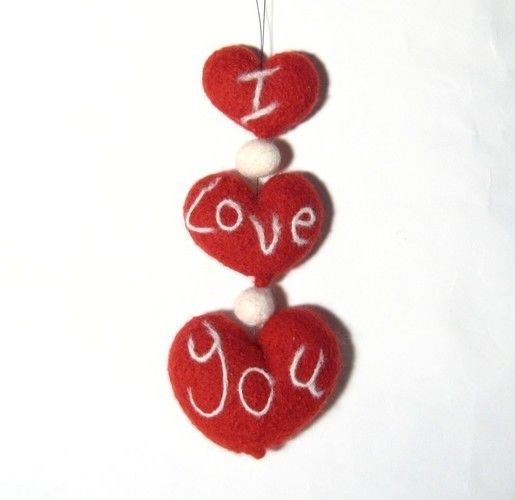 Makerist - Valentines Garland - Knitting Showcase - 1