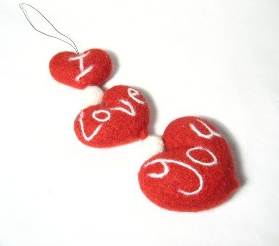 Makerist - Valentines Garland - Knitting Showcase - 2