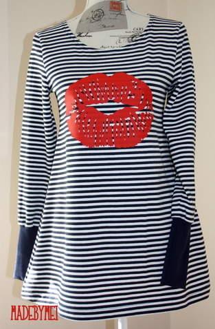 Vestis als Longshirt ...schon ein bisschen in love :-)
